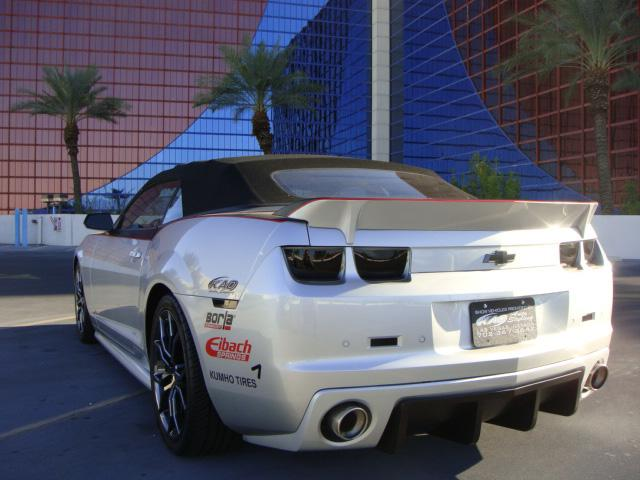 2011 CHEVROLET CAMARO SS CUSTOM CONVERTIBLE - Rear 3/4 - 117757