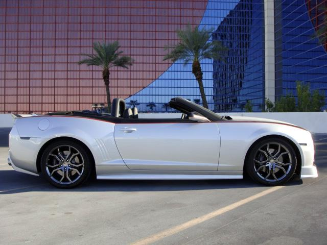2011 CHEVROLET CAMARO SS CUSTOM CONVERTIBLE - Side Profile - 117757