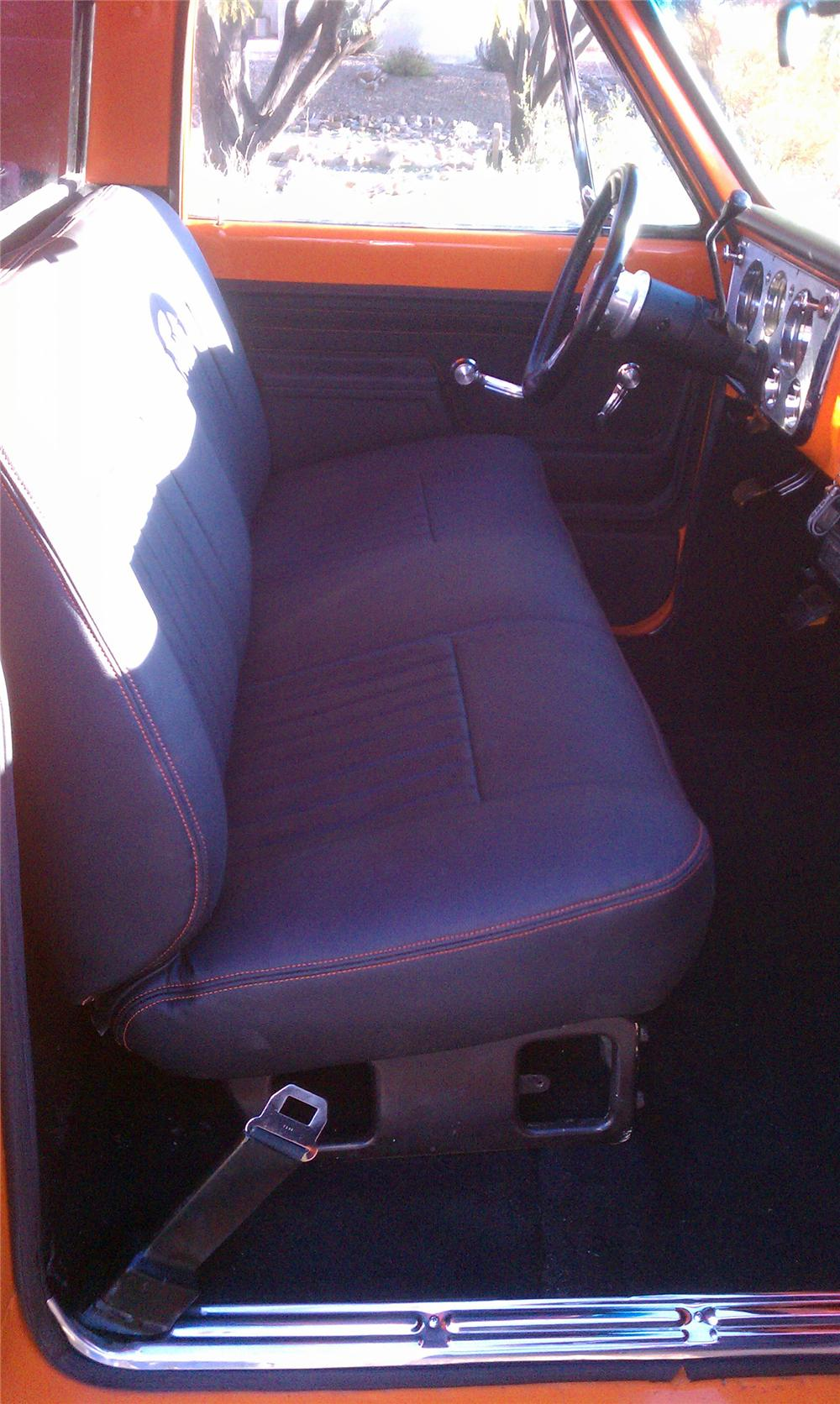 1972 GMC 1/2 TON CUSTOM PICKUP - Interior - 117764