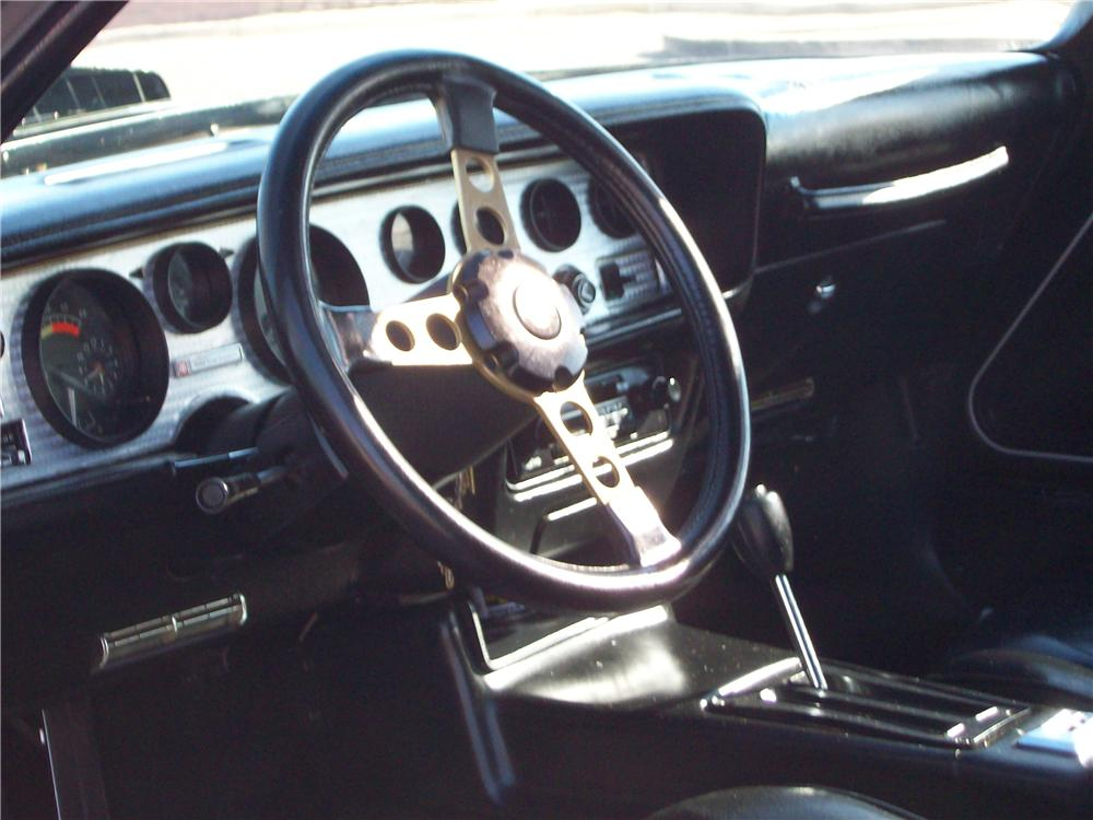 1979 PONTIAC FIREBIRD TRANS AM COUPE - Interior - 117768