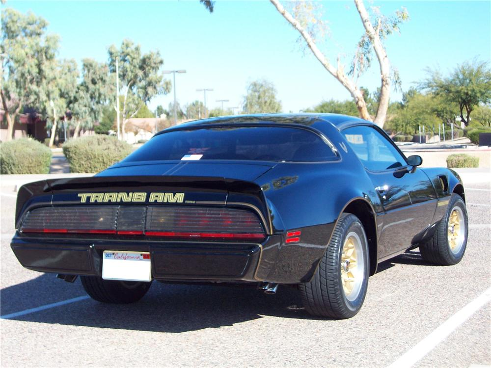 1979 PONTIAC FIREBIRD TRANS AM COUPE - Rear 3/4 - 117768