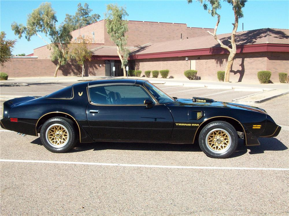 1979 PONTIAC FIREBIRD TRANS AM COUPE - Side Profile - 117768