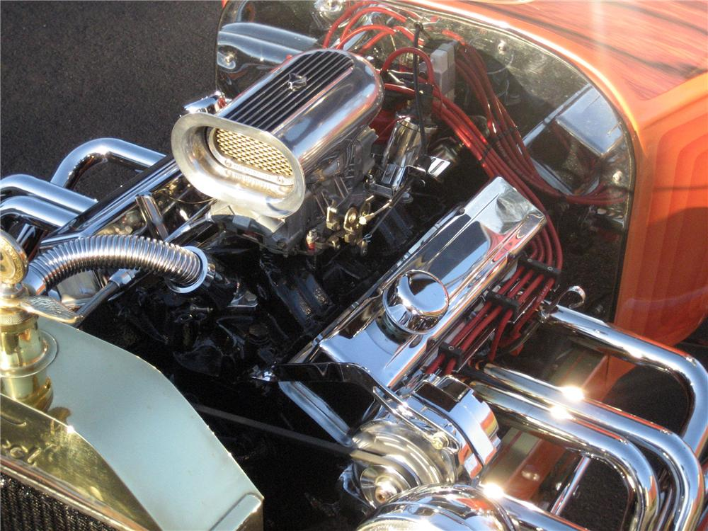 1923 FORD MODEL T CUSTOM ROADSTER - Engine - 117772