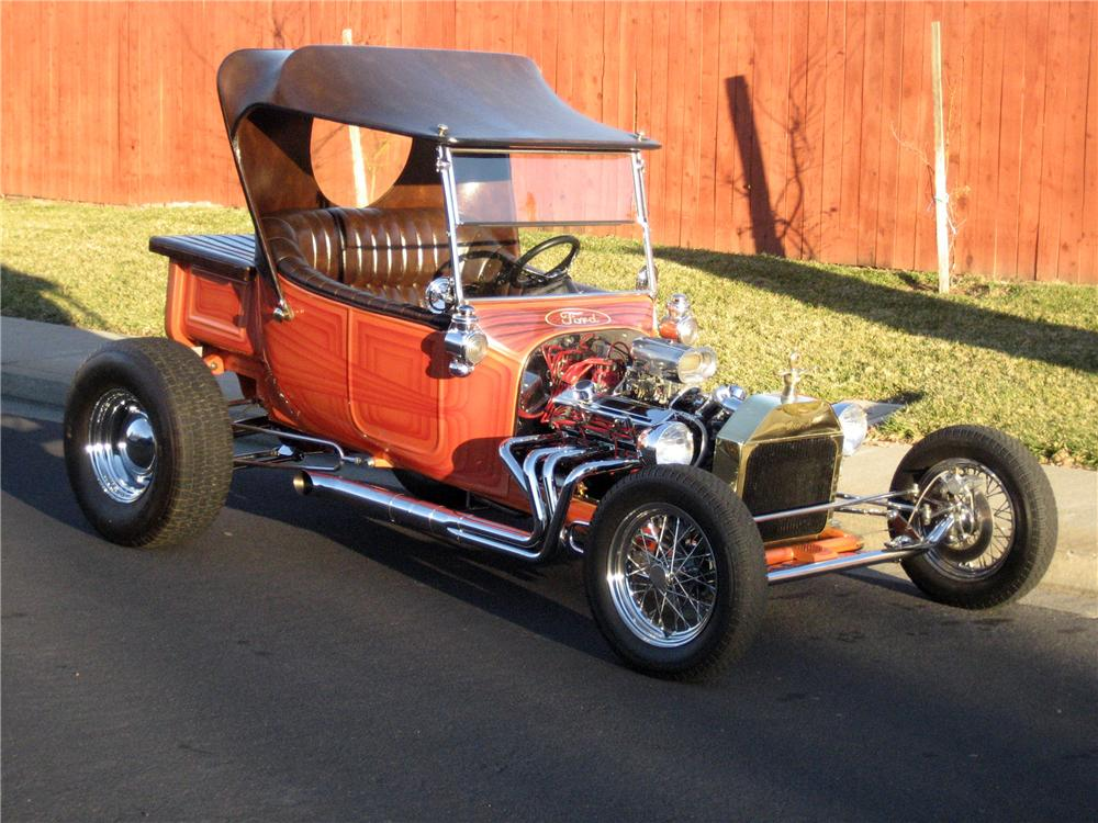 1923 FORD MODEL T CUSTOM ROADSTER - Front 3/4 - 117772
