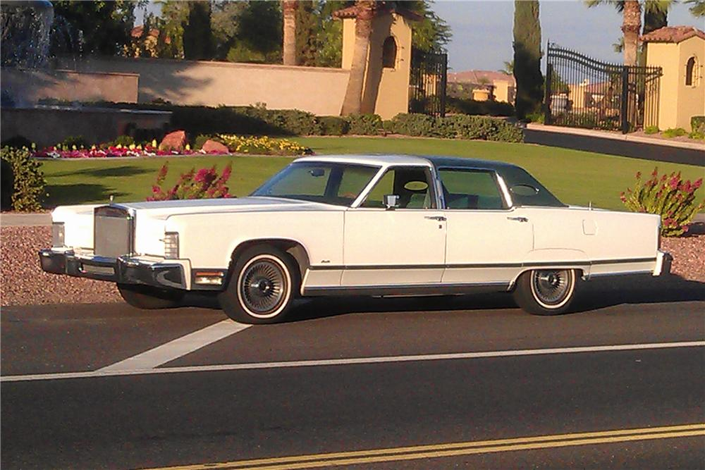 1977 Lincoln Continental 4 Door Sedan 117777