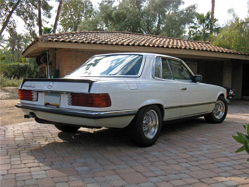 1980 MERCEDES-BENZ 500SLC 2 DOOR COUPE - Rear 3/4 - 117778