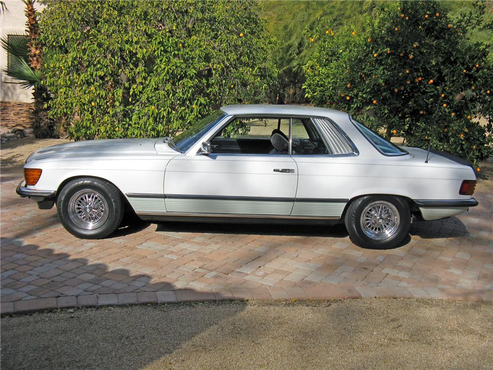 1980 MERCEDES-BENZ 500SLC 2 DOOR COUPE - Side Profile - 117778