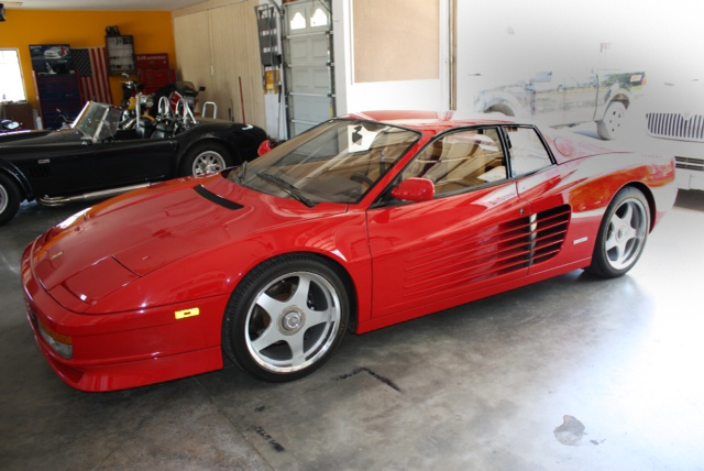 1987 ferrari testarossa 2 door coupe 117784. Black Bedroom Furniture Sets. Home Design Ideas