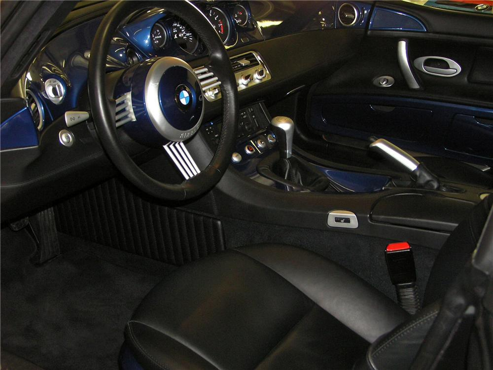 2001 BMW Z8 ROADSTER - Interior - 117787