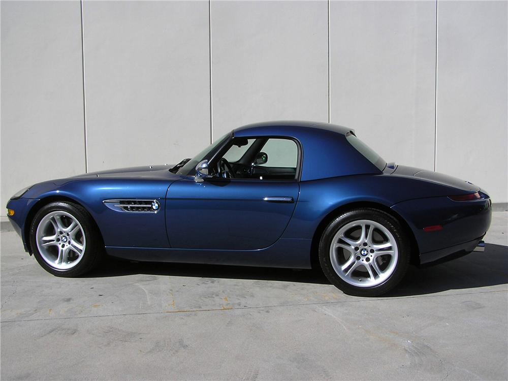 2001 BMW Z8 ROADSTER - Side Profile - 117787
