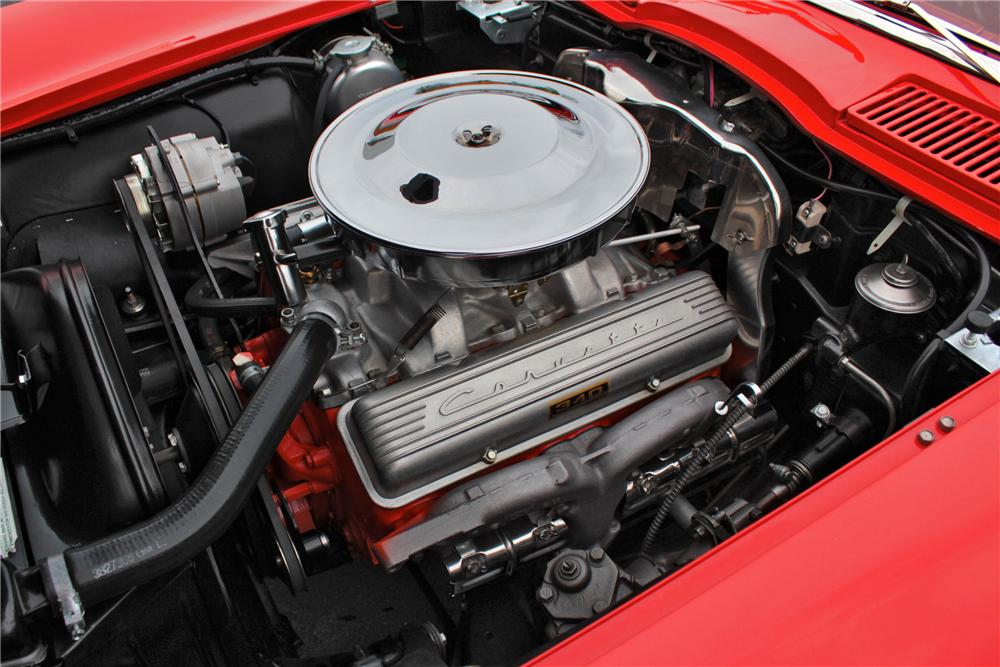 1963 CHEVROLET CORVETTE CONVERTIBLE - Engine - 117789