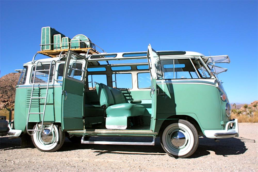 1963 VOLKSWAGEN 23 WINDOW MICROBUS - Side Profile - 117794
