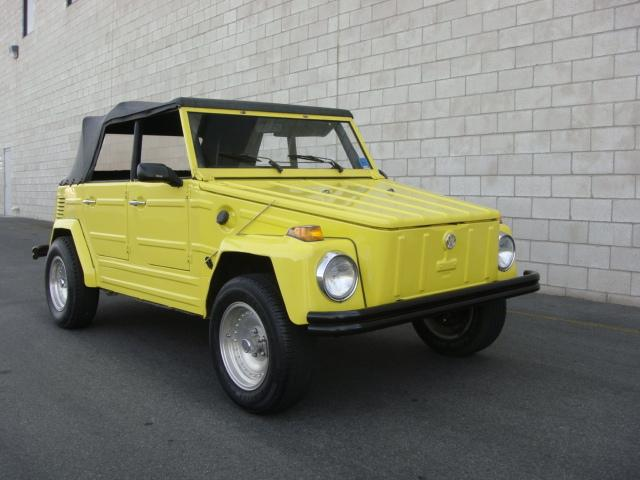 1973 VOLKSWAGEN THING CUSTOM CONVERTIBLE - Front 3/4 - 117798