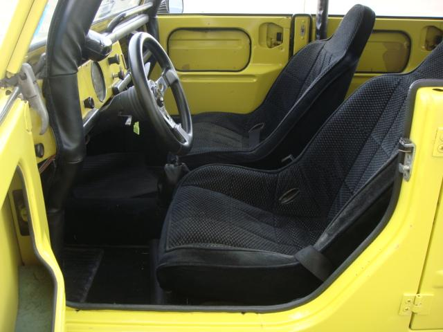 1973 VOLKSWAGEN THING CUSTOM CONVERTIBLE - Interior - 117798