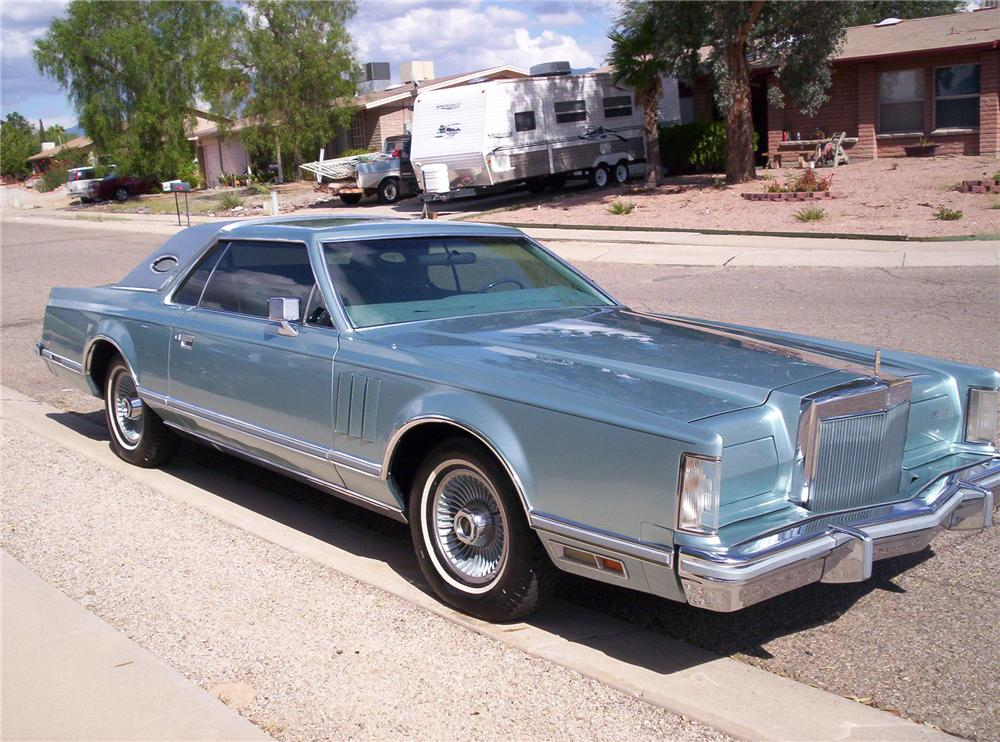 1978 LINCOLN DIAMOND JUBILEE 2 DOOR COUPE - Front 3/4 - 117799