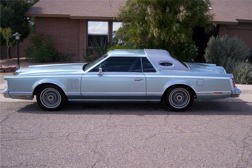 1978 LINCOLN DIAMOND JUBILEE 2 DOOR COUPE - Side Profile - 117799