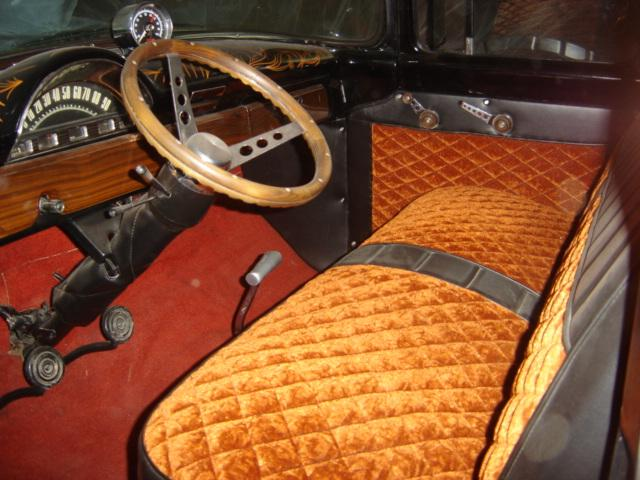 1956 FORD F-100 CUSTOM PICKUP - Interior - 117800