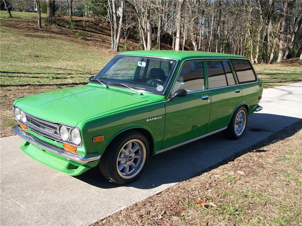 1972 DATSUN 510 WAGON - Side Profile - 117816
