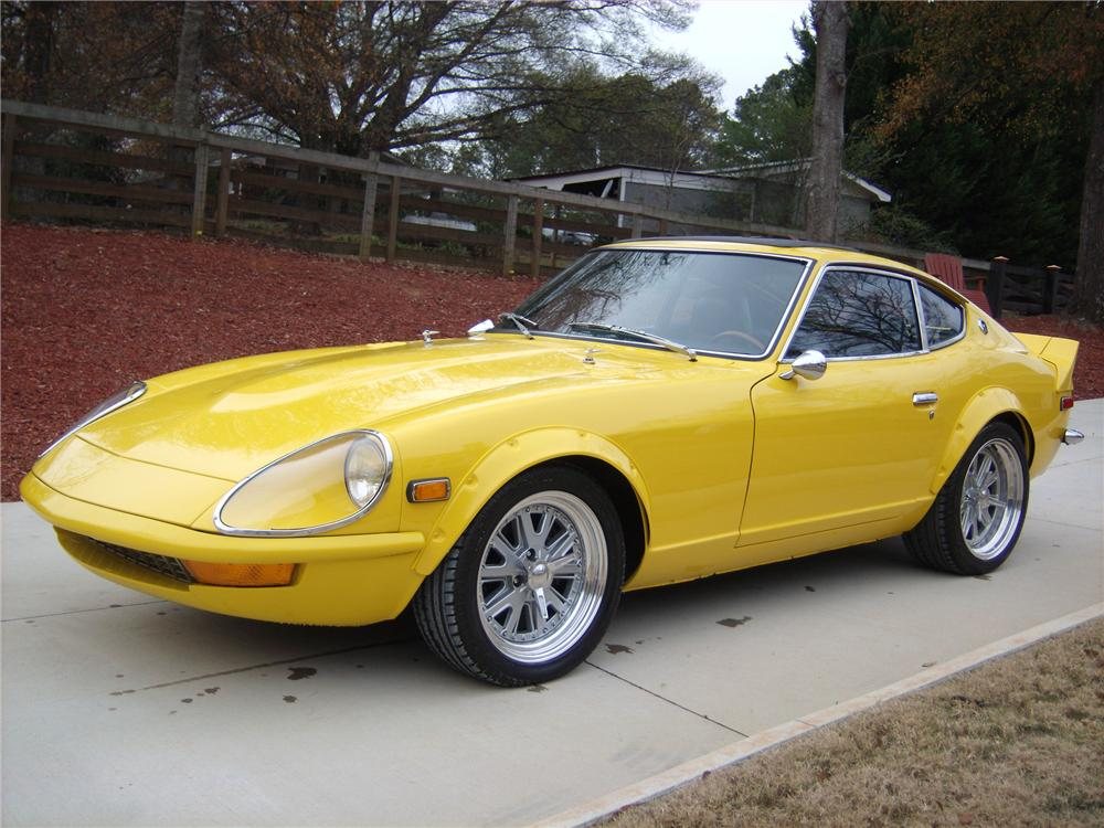 1977 DATSUN 280Z CUSTOM 2 DOOR COUPE - Front 3/4 - 117817