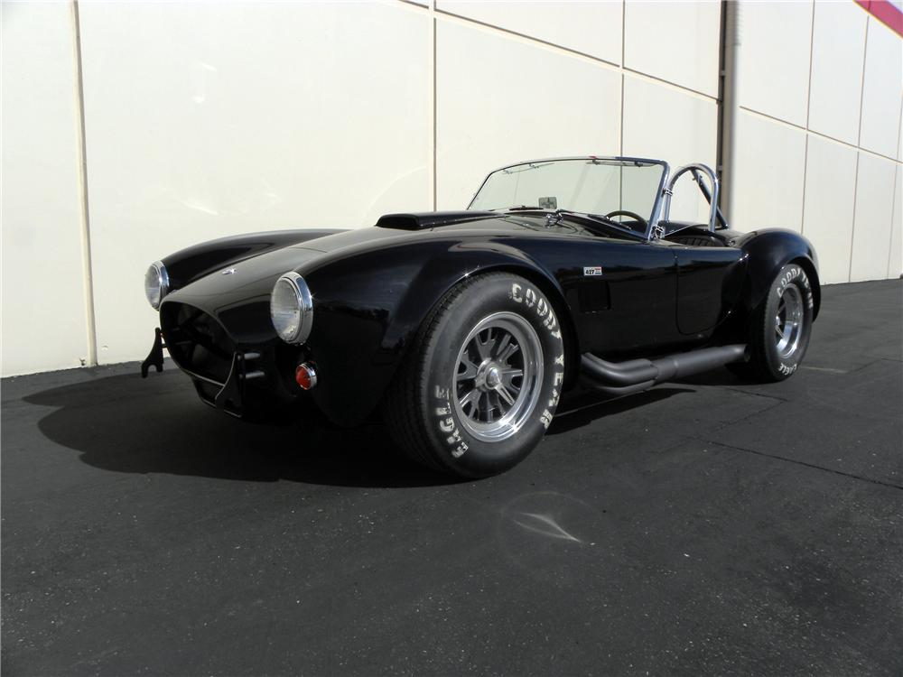 1965 SHELBY COBRA CSX 6000 ROADSTER - Front 3/4 - 117831