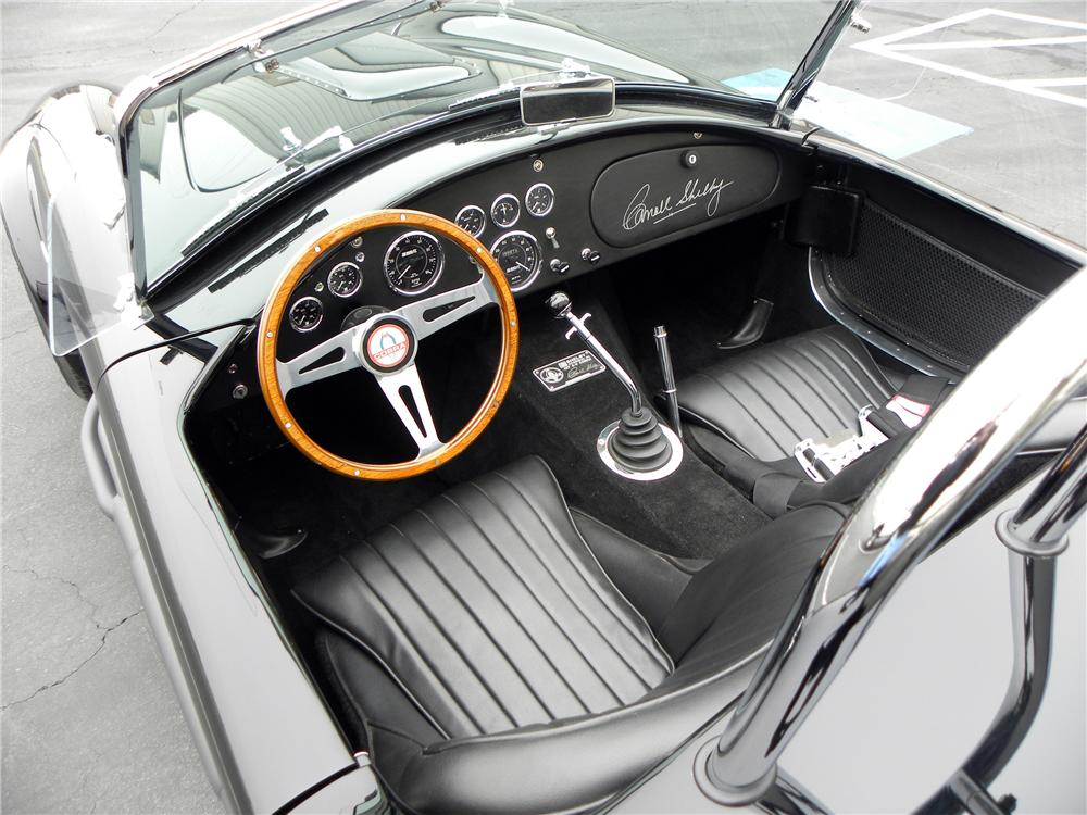 1965 SHELBY COBRA CSX 6000 ROADSTER - Interior - 117831