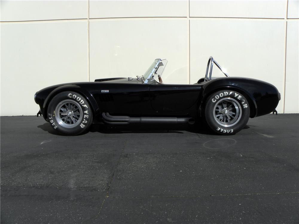 1965 SHELBY COBRA CSX 6000 ROADSTER - Side Profile - 117831