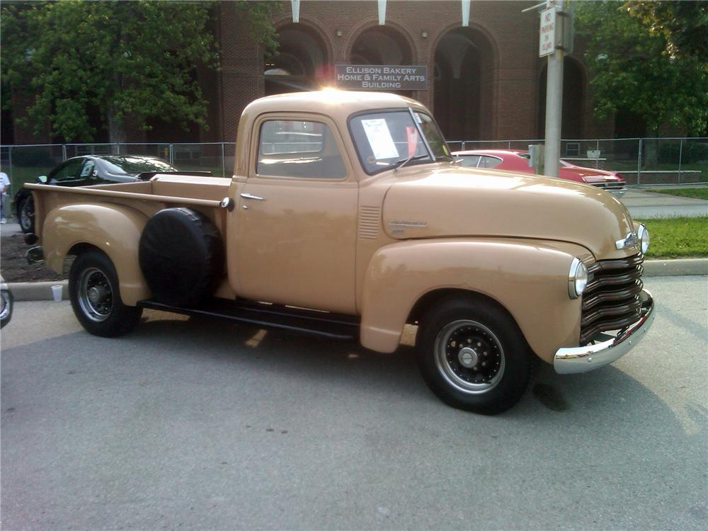 1950 CHEVROLET 3600 PICKUP - Front 3/4 - 117835