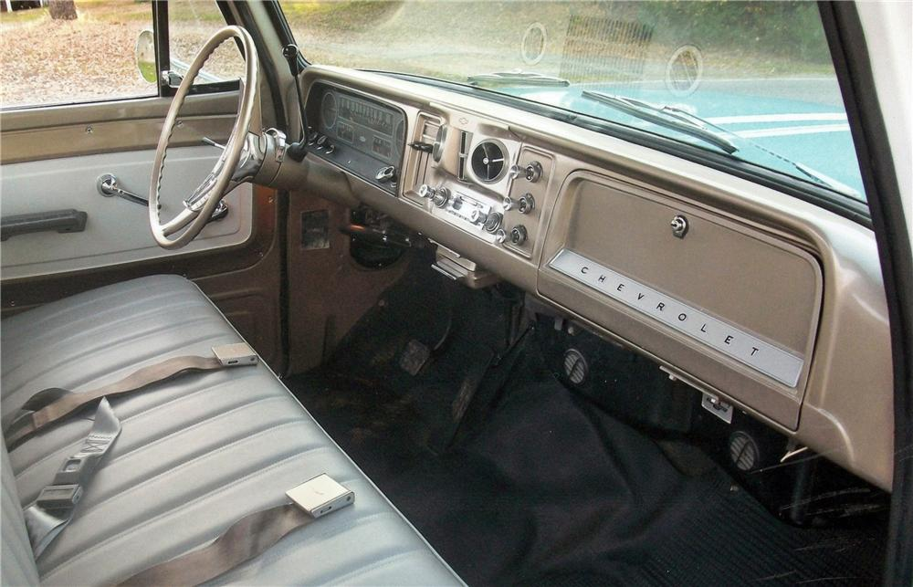 1965 CHEVROLET STEP-SIDE PICKUP - Interior - 117837