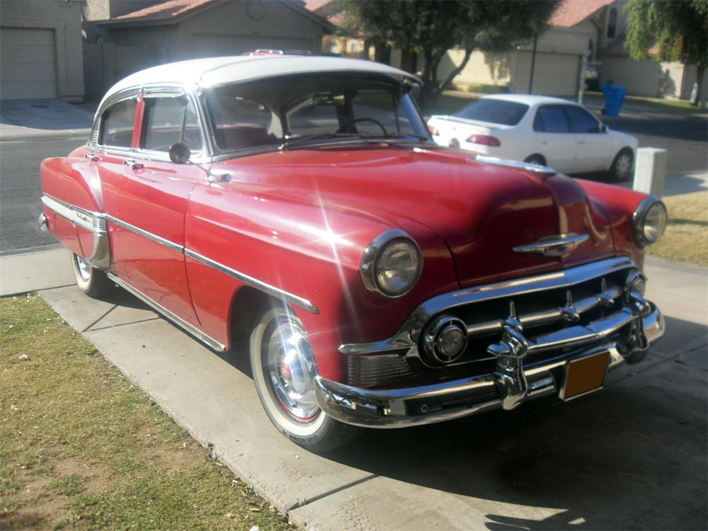 1953 CHEVROLET BEL AIR 4 DOOR SEDAN - Front 3/4 - 117838