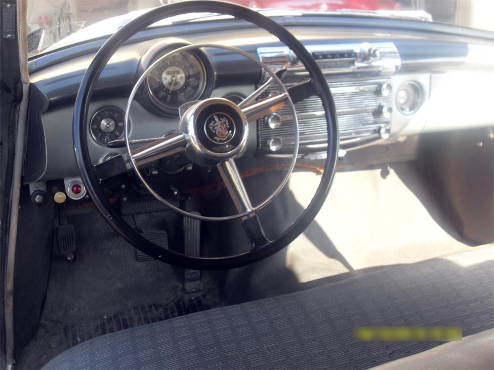 1952 BUICK SUPER 4 DOOR SEDAN - Interior - 117839