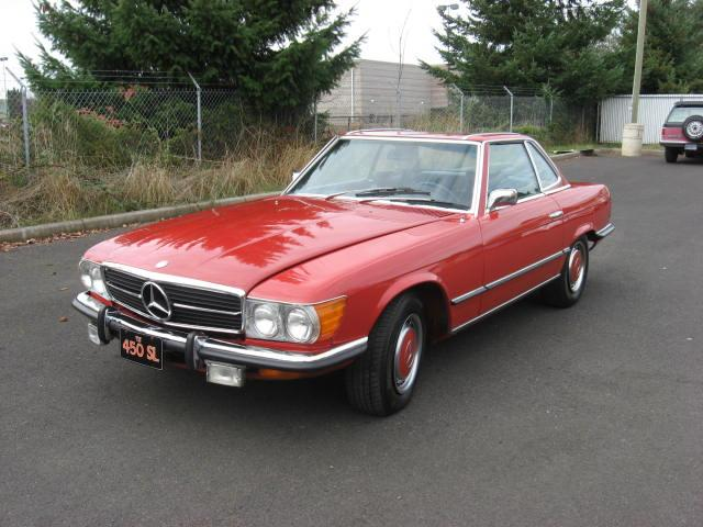 1973 MERCEDES-BENZ 450SL CONVERTIBLE - Front 3/4 - 117842