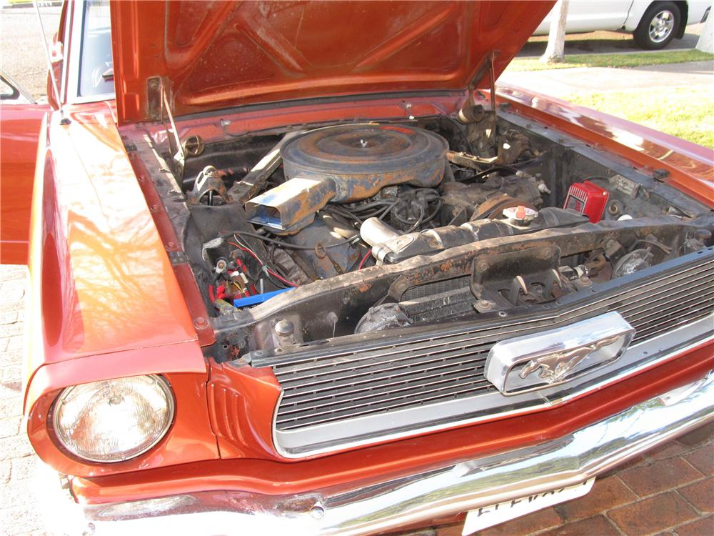 1966 FORD MUSTANG 2 DOOR COUPE - Engine - 117843
