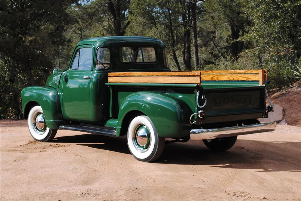 1953 CHEVROLET 3100 PICKUP - Rear 3/4 - 117845