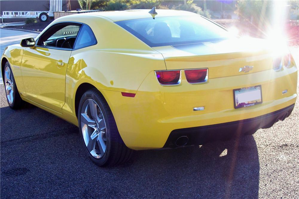 2010 CHEVROLET CAMARO RS/SS 2 DOOR COUPE - Rear 3/4 - 117850