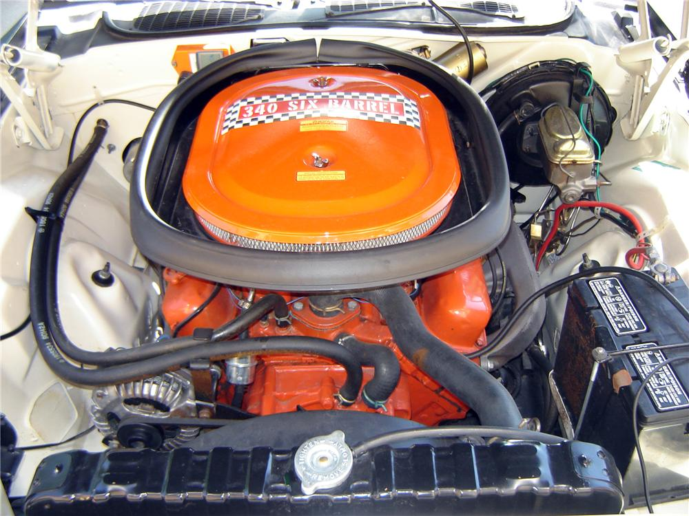 1970 PLYMOUTH CUDA AAR 2 DOOR HARDTOP - Engine - 118015