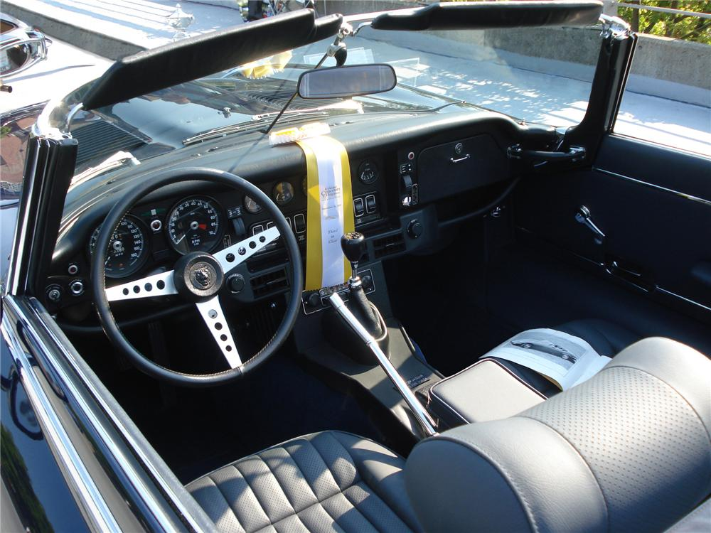 1974 JAGUAR XKE SERIES III ROADSTER - Interior - 118022
