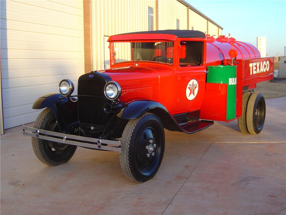 1931 FORD MODEL AA TANKER TRUCK - Front 3/4 - 118050