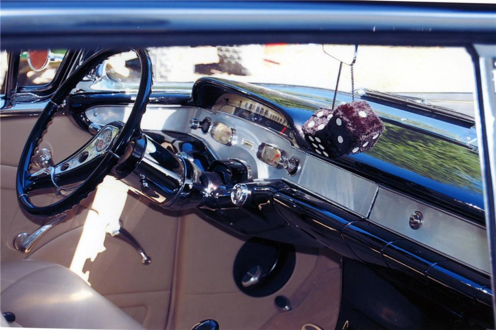 1958 CHEVROLET IMPALA 2 DOOR HARDTOP - Interior - 118142