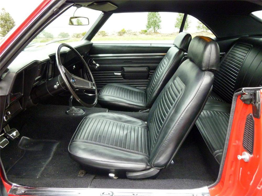 1969 CHEVROLET CAMARO 2 DOOR COUPE - Interior - 118359