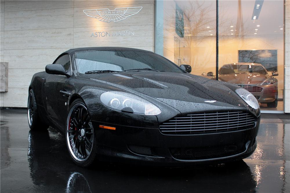 2006 aston martin db9 convertible 118713. Black Bedroom Furniture Sets. Home Design Ideas