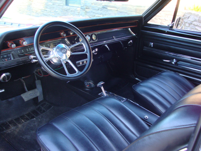 1966 CHEVROLET CHEVELLE MALIBU CUSTOM CONVERTIBLE - Interior - 119793