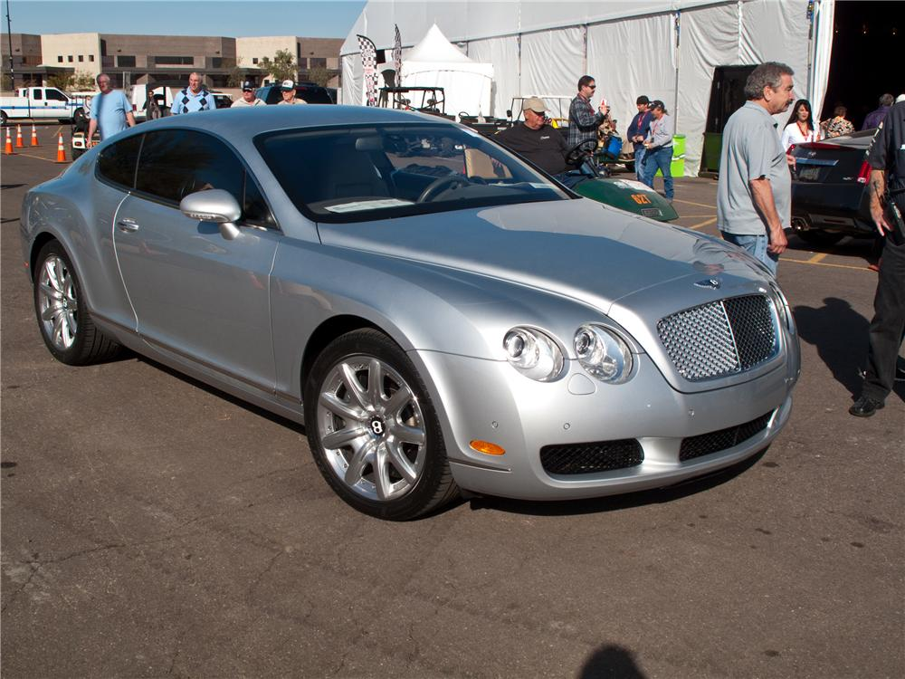 2005 bentley continental gt 2 door coupe. Black Bedroom Furniture Sets. Home Design Ideas