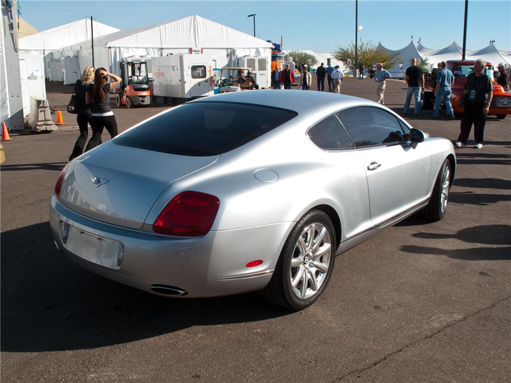 2005 bentley continental gt 2 door coupe 121153. Black Bedroom Furniture Sets. Home Design Ideas