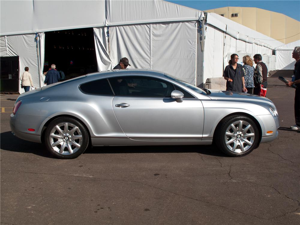 2005 BENTLEY CONTINENTAL GT 2 DOOR COUPE - Side Profile - 121153