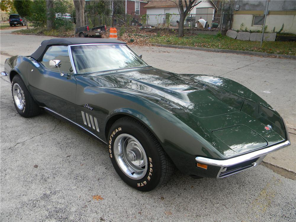 1969 Corvette Stingray >> 1969 CHEVROLET CORVETTE CONVERTIBLE