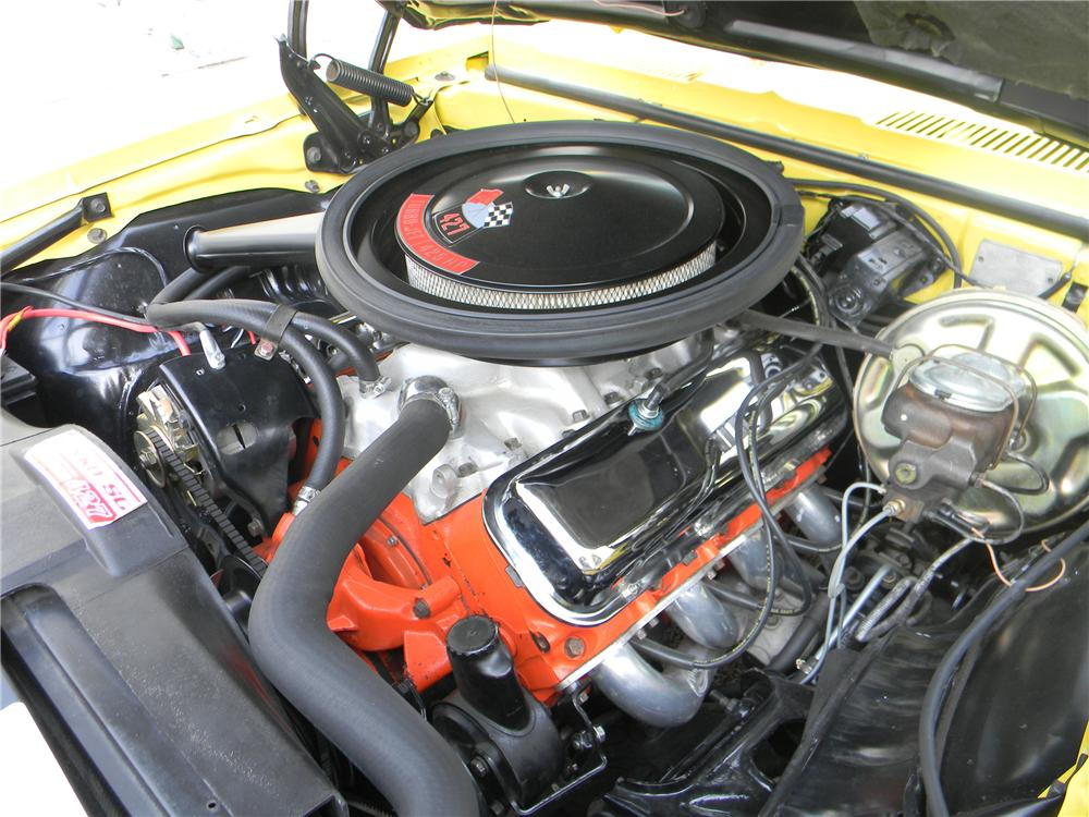 1969 CHEVROLET CAMARO YENKO RE-CREATION COUPE - Engine - 125061