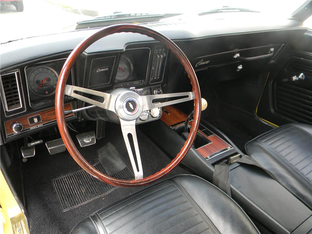 1969 CHEVROLET CAMARO YENKO RE-CREATION COUPE - Interior - 125061