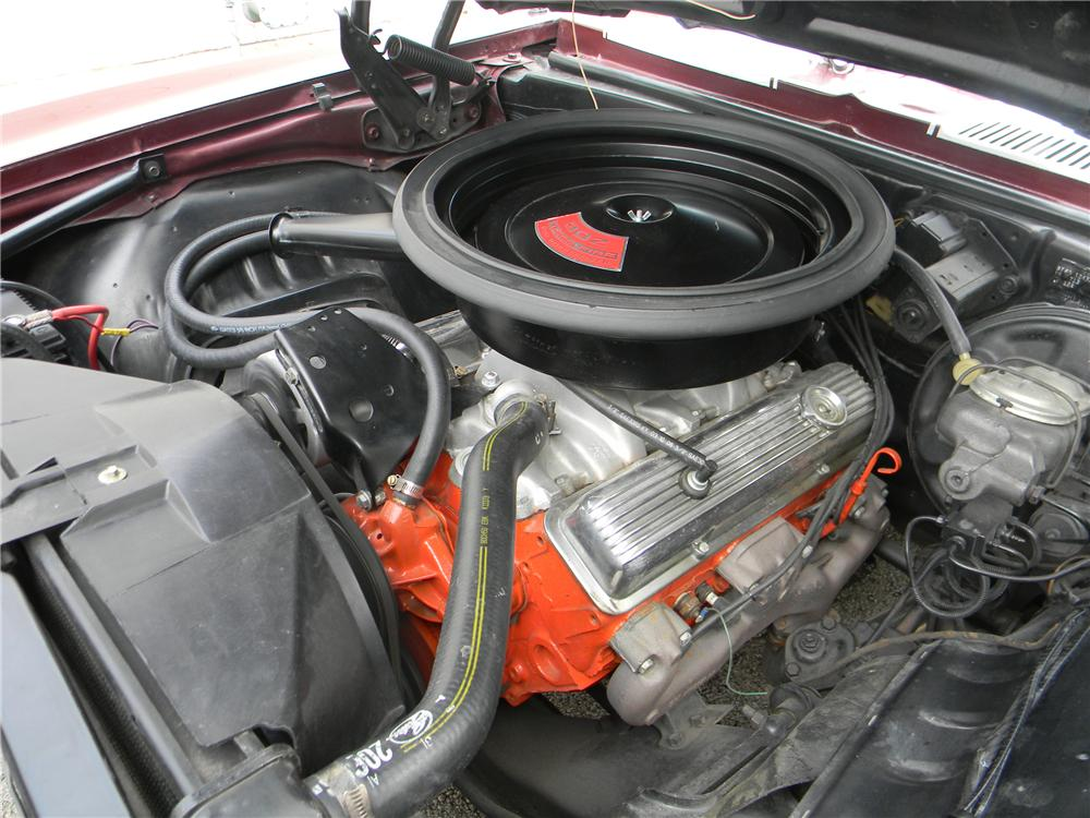 1969 CHEVROLET CAMARO Z/28 RS 2 DOOR COUPE - Engine - 125063