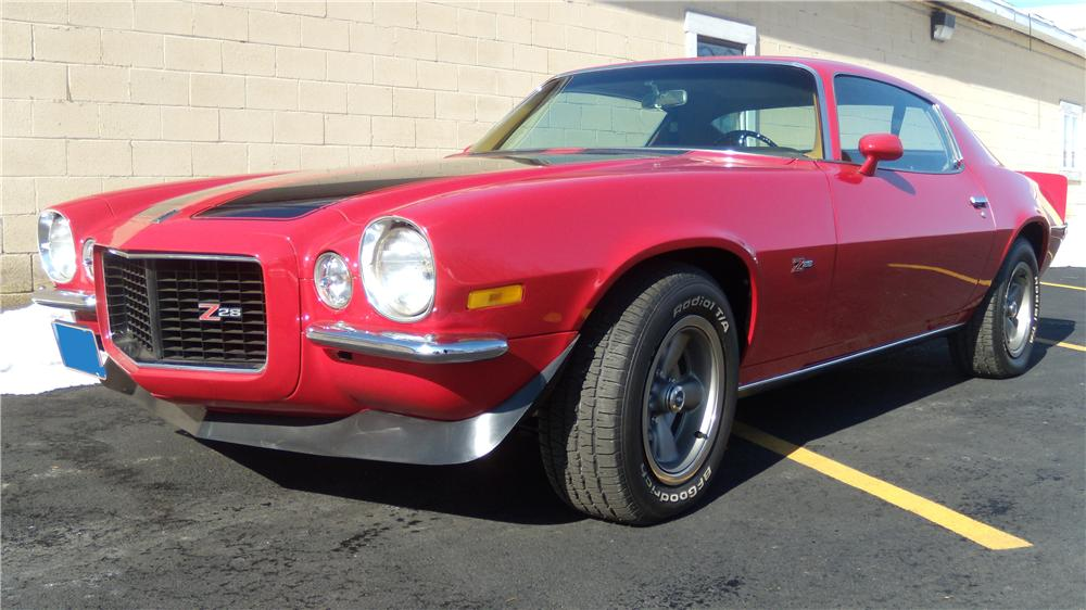 1970 CHEVROLET CAMARO Z/28 RS 2 DOOR COUPE - Front 3/4 - 125085