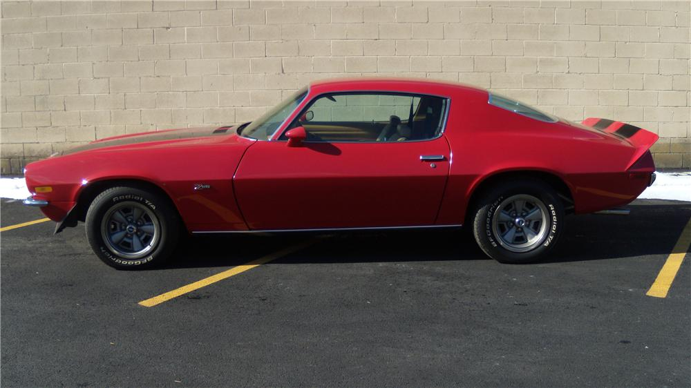 1970 CHEVROLET CAMARO Z/28 RS 2 DOOR COUPE - Side Profile - 125085